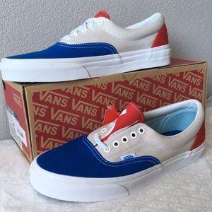 d1c5a39d87c372 Vans Shoes - vans era 1966 blue gray red lady10.5